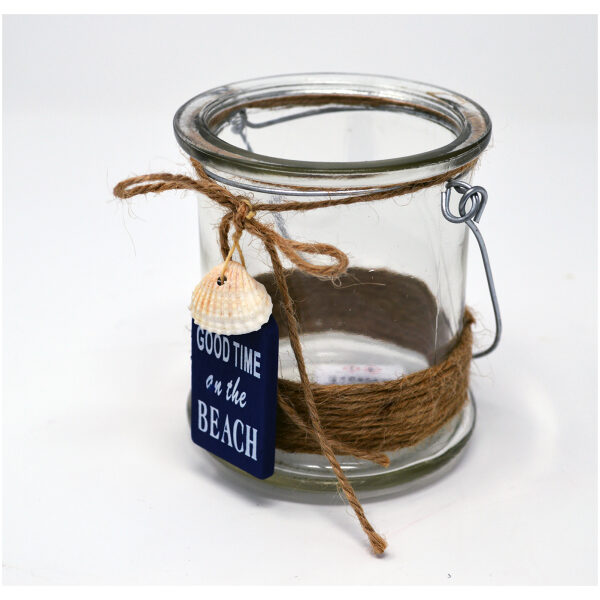 'good time at the beach' jar
