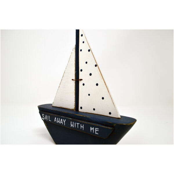 'sail away with me' boat