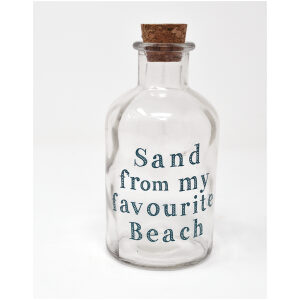 the sand from my favourite beach bottle