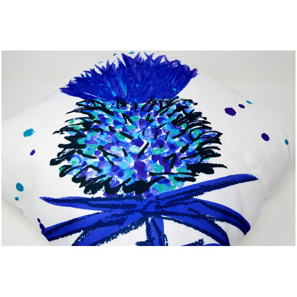 Beautiful thistle cushion