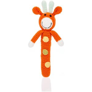 fair trade giraffe baby rattle