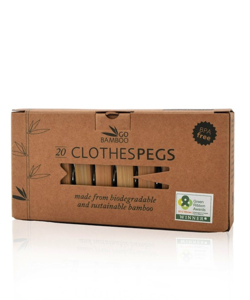 plastic free clothes pegs