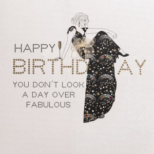 you are fabulous birthday card